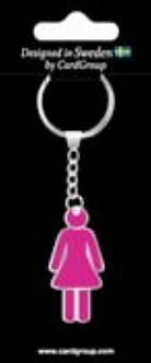 IGa-2045 Girl Key Ring