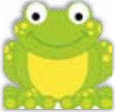 HIC15015 GlItter frog