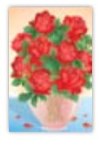 HIC8371 Mini Beautiful Vase