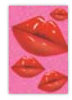 HIC8388 Mini Pink Kisses