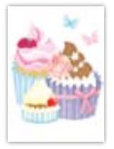 HIC8297B Mini Cupcakes