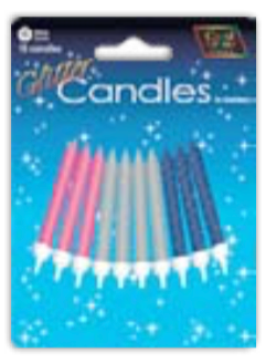 IGC-40 Shimmering Candles