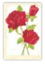 HIC8325 Mini Three Roses