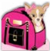 HIC2242 Dog Handbag