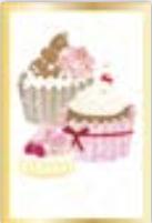 HIC3636 Golden Cupcakes