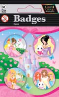 IGa-4000 Princess Badges