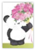 HIC8319 Mini Rose Panda