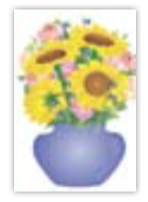 HIC8321 Mini Sunflower Vase