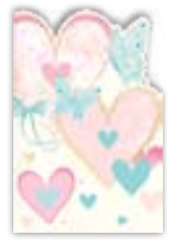 HIC8405 Mini Graceful Hearts