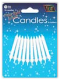 IGC-27 pearlIsed whIte candles