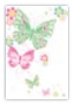 HIC8310 MInI GlItter Butterflies