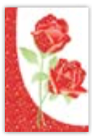 HIC8335 Mini Glittering Roses