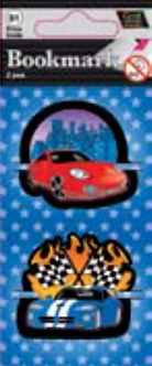 IGa-1008 Cars Bookmarks