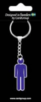 IGa-2046 Guy Key Ring