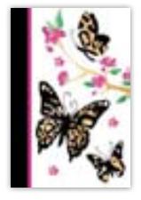 HIC8402 Mini Purple Butterflies