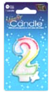IGc-2 number candle 2