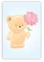 HIC8410 Mini Cute Teddy