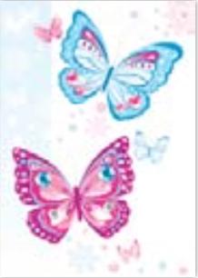 HiC4047 Big pretty Butterflies
