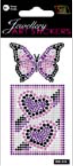 IGD-918 PURPLE BUTTERFLIES