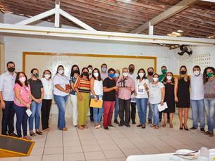 Prefeito Joselito Gomes de Gravatá participa de café da manhã no SERC