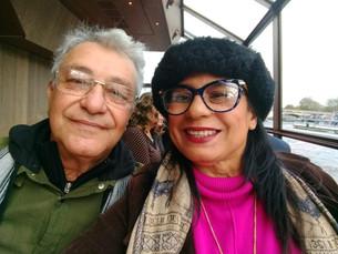 Thales e Aline Galhardo curtindo férias na Europa