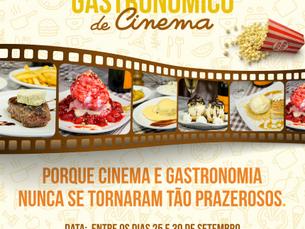 Cinema e Gastronomia em Gravatá