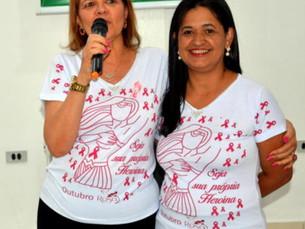 Mulheres Em Evidência e ACIAG fecham o Outubro Rosa com evento para conscientização sobre o Câncer d