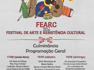 Festival de Arte e Resistência Cultural - FEARC
