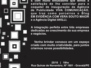 Agência de Publicidade com novo conceito em Gravatá