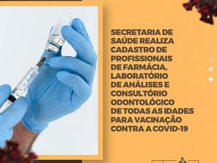 Secretaria de Saúde anuncia nova fase da vacinação