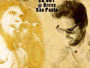 Bruno Souto faz show hoje em São Paulo
