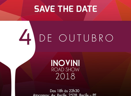 Recife recebe roadshow de vinhos da Inovini