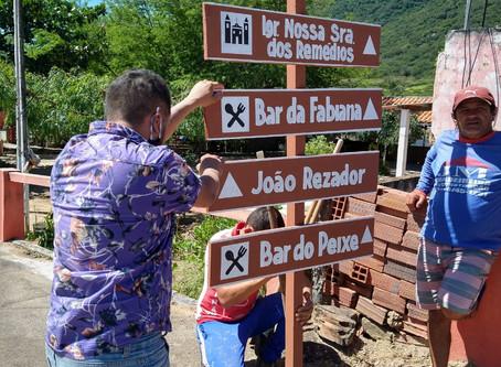 Secretaria de Turismo de Bezerros inicia Sinalização Turística no Sítio dos Remédios