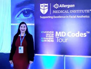 Dra Aline Piol participa de especialização em Md Codes
