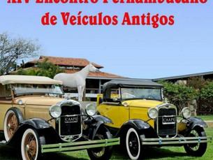 Hotel Portal sedia XIV Encontro de Carros Antigos
