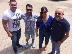 Secretário de Turismo de Bezerros Eduardo Ferreira reúne equipe e realiza visita técnica na Serra Ne