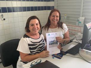 Clemilda Lira faz visita de cortesia a Ouvidoria de Ipojuca