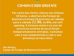 Parque de Aventura Karawá tã abre sábado 22.06 em Gravatá