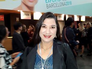 Dra Aline Piol participa de Congresso em Barcelona