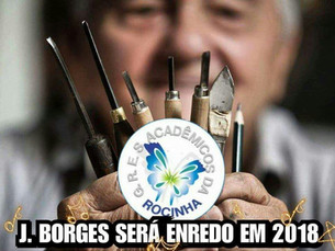 J. Borges será enredo em 2018 na Sapucaí