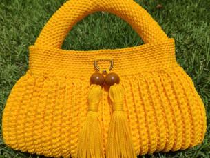 Bolsas de crochê são tendência para o verão
