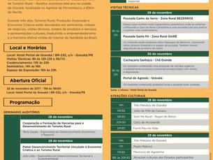 13ª Feira de Turismo Rural acontece em Gravatá