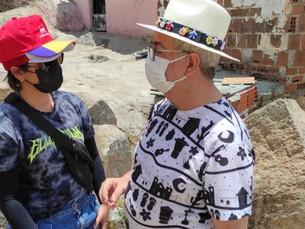 """Thamires Ferreira diretora de cultura participa do projeto """"Alto com Vida"""""""