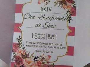 SERC realiza seu XXIV Chá Beneficente