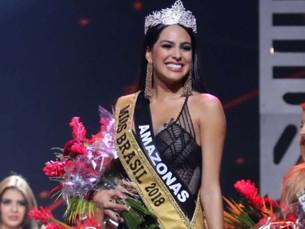 Mayra Dias, do Amazonas, é eleita Miss Brasil 2018