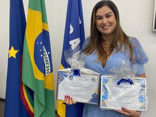 Dra Fernanda Nóbrega recebe título de cidadã gravataense