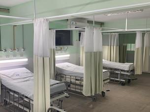 Hospital Jesus Pequenino amplia novos leitos de UTI para COVID