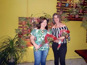 Lucênia Maria e Rose Machado reúnem amigas para comemorar aniversário