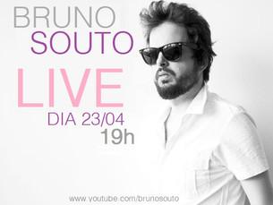 Hoje tem LIVE com Bruno Souto