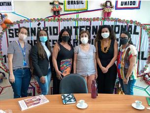 Secretária da Mulher de Gravatá realiza visita às secretárias do Estado e do Recife